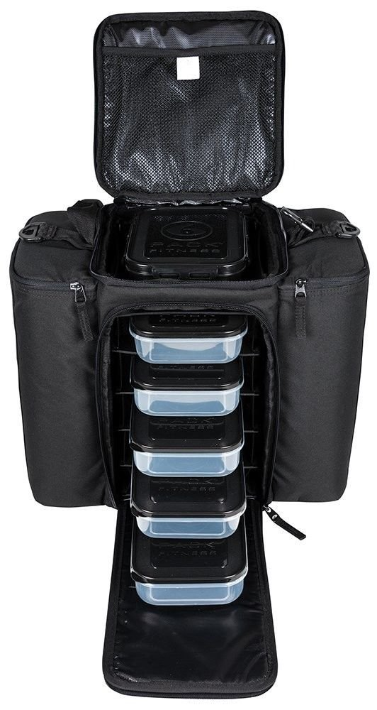 6 Pack Fitness Innovator 500 Stealth Black (5 Meals) by 6 Pack Fitness