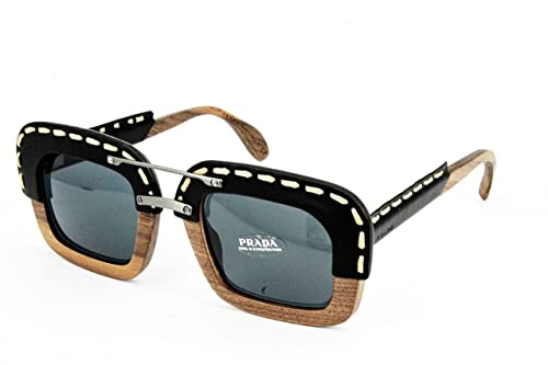 Amazon.com: Prada Sunglasses PR26RS UA61A1 51mm Nut ...