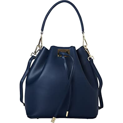 9c2d3d50d2f0 Sharo Leather Bags Italian Leather Satchel Tote (Navy Blue ...