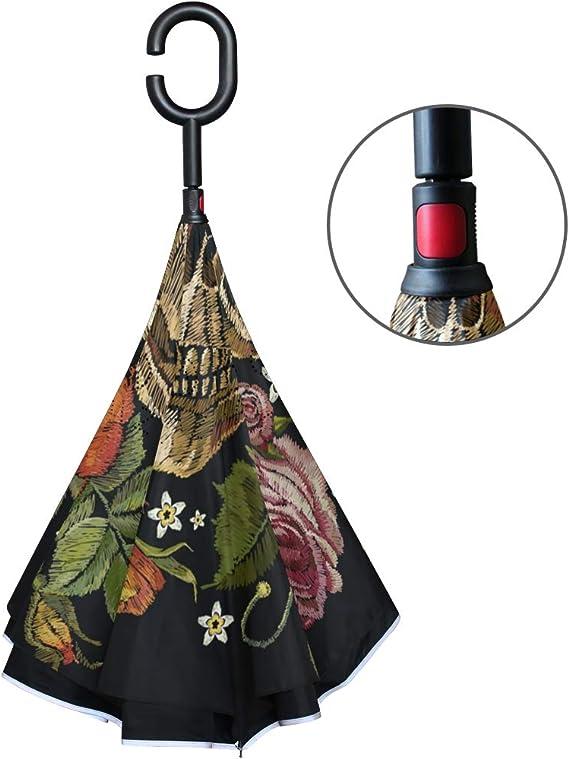 Acheter parapluie tete de mort online 9