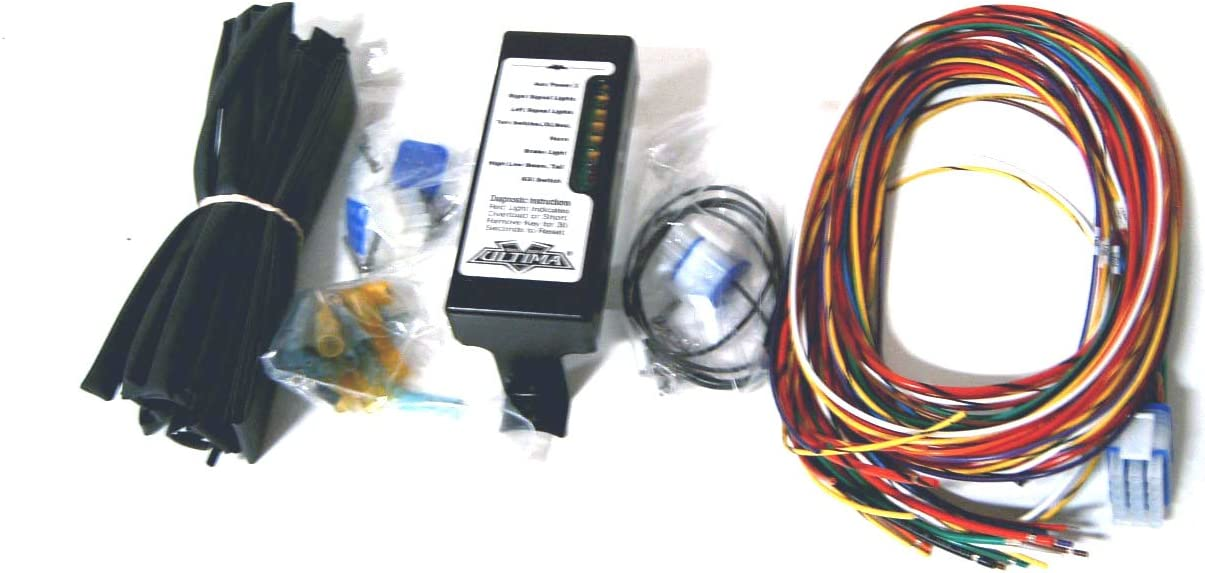 [SCHEMATICS_4CA]  Amazon.com: Ultima Complete Wiring Harness Kit For Harley-Davidson:  Automotive | Custom Harley Wiring Harness |  | Amazon.com