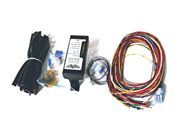 61DV2Bq5%2BHL._SX355_ amazon com ultima complete wiring harness kit for harley davidson thunderheart wiring harness at webbmarketing.co
