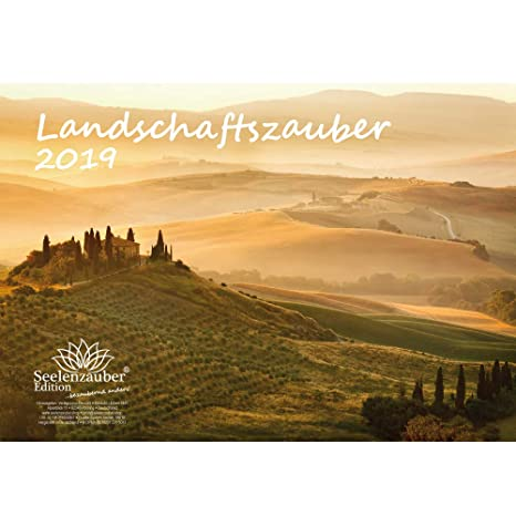 Calendario Din A4.Magia Del Paesaggio Din A4 Premium Calendario 2019
