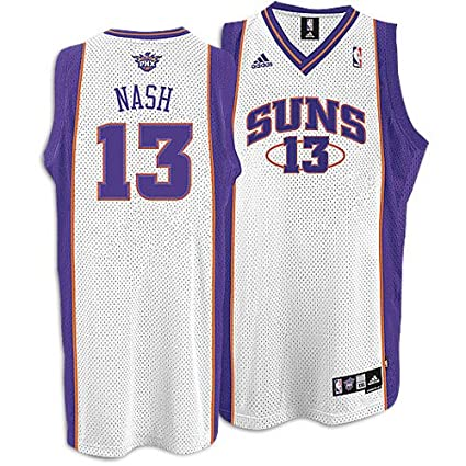 Image Unavailable. Image not available for. Color  Phoenix Suns Steve Nash  White Swingman  13 Jersey Adidas 72a3c275f