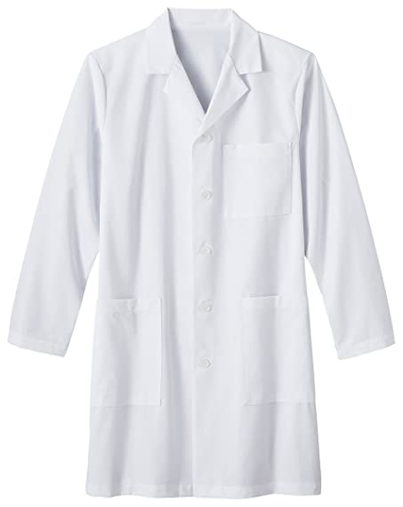 Amazon.com: White Swan Uniforms Men's White Lab Coat: Medical Lab ...