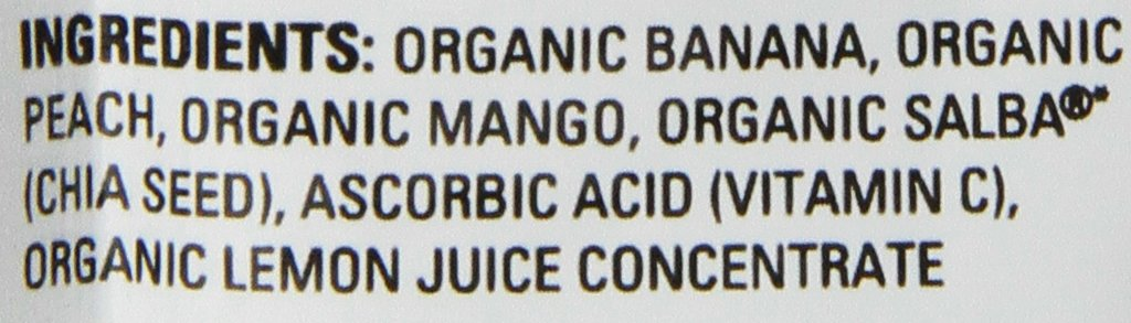 Happy Tot, Organic Baby Food, Superfoods, Banana Peach Mango, Stage 4, 4.22oz, pouch by Happy Baby (Image #3)