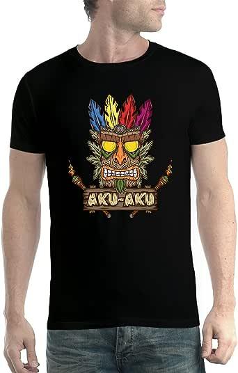 avocadoWEAR Máscara Tribu Mundo Perdido Hombre Camiseta XS