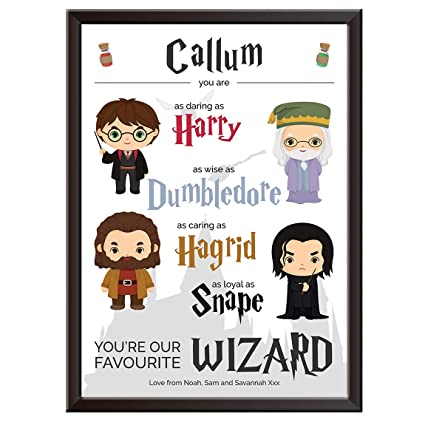 PERSONALISED Harry Potter Print