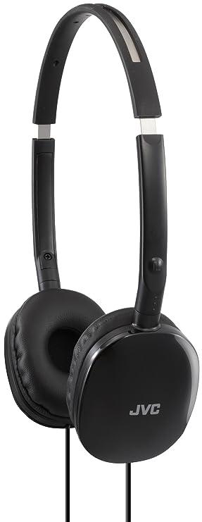 795baa5a8c9 JVC HA-S160-B-E FLATS Lightweight Headphones - Black: Amazon.co.uk ...