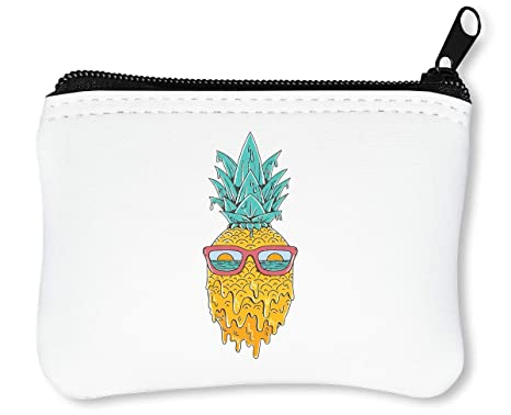 Melting Summer Pineapple Design Billetera con Cremallera ...