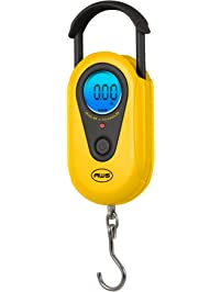 American Weigh Scales AMW-SR-20 Yellow Digital HanGinG Scale, 44lb by 0.02