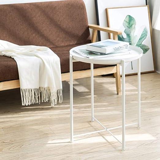 Creativa mesa redonda de pintura de hierro forjado, mesa de ...