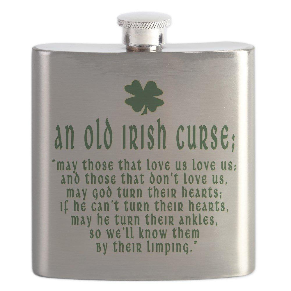 美品  CafePress – – An Old Irish Curse Curse – ステンレススチールフラスコ Old、6オンスDrinkingフラスコ B01IUF47HI, 佐伯郡:bba40e1a --- a0267596.xsph.ru