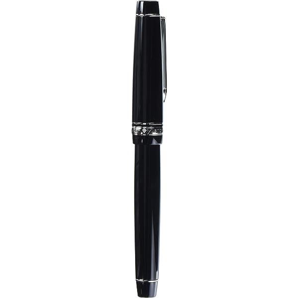 fa-nib personalizados Negro Cuerpo fkvh-2mr-b-fa Pilot pluma estilogr/áfica HERITAGE 912