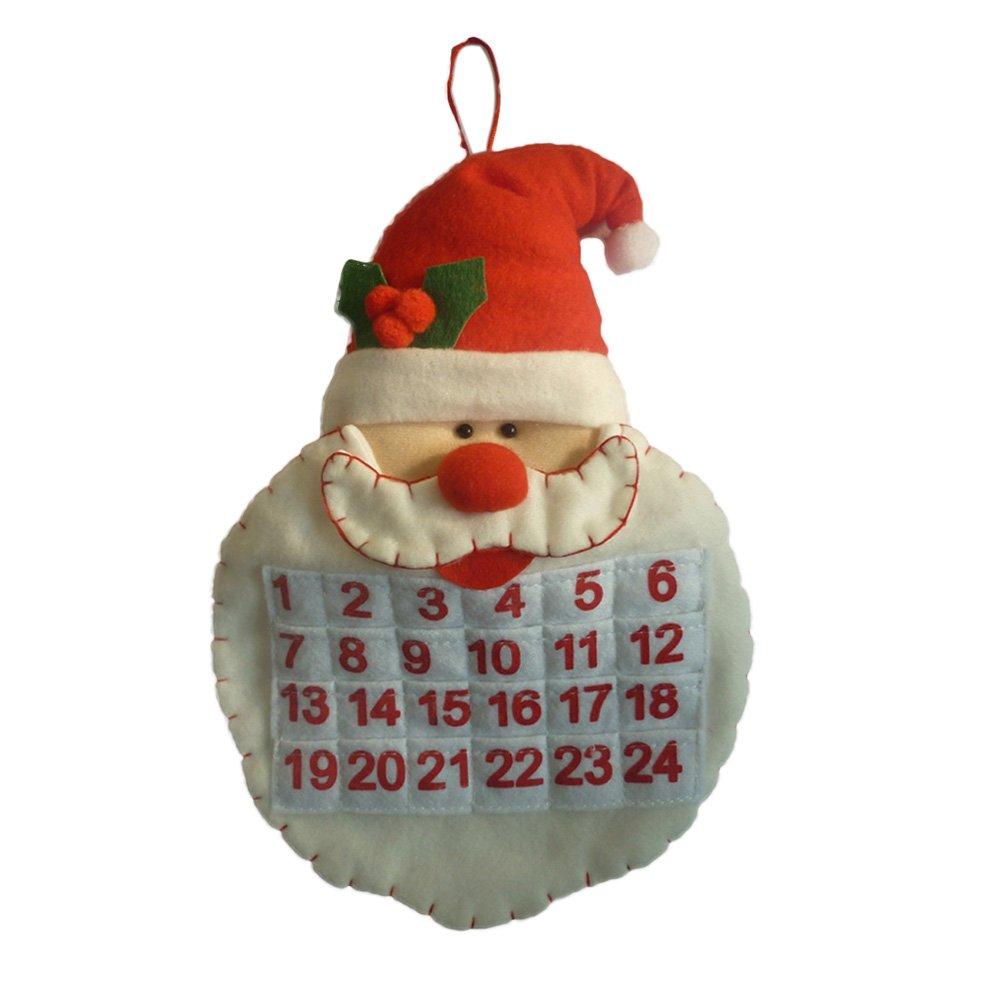 Gaosaili Santa Claus Head Advent Calendar
