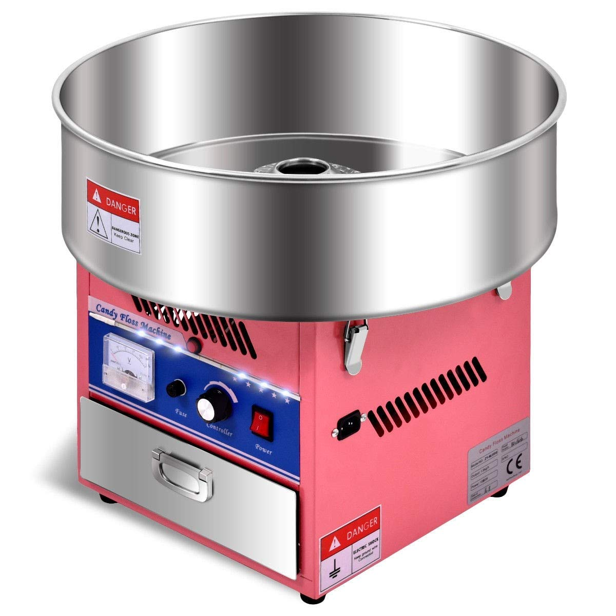 Cotton Candy Machine, Pink Electric Cotton Candy Machine by MD Group (Image #1)