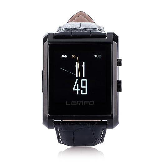 Reloj Bluetooth Inteligente DM08 Contestador de Llamadas Fotos HD Mensaje Inteligente Sistema antirrobo Inteligente Apple &