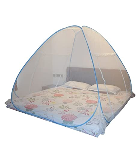 ASP Healthcare Health Care Double Bed Folding Mosquito Net (Pink)