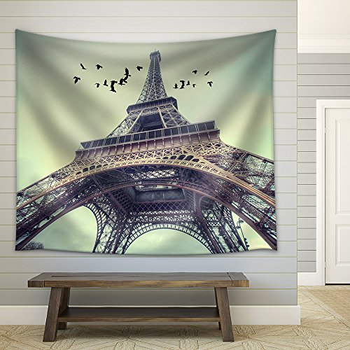 Window to Paris Architecture of Paris France Europe Fabric Wall