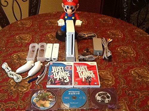 Nintendo Console Bundle Dance Sports Controllers