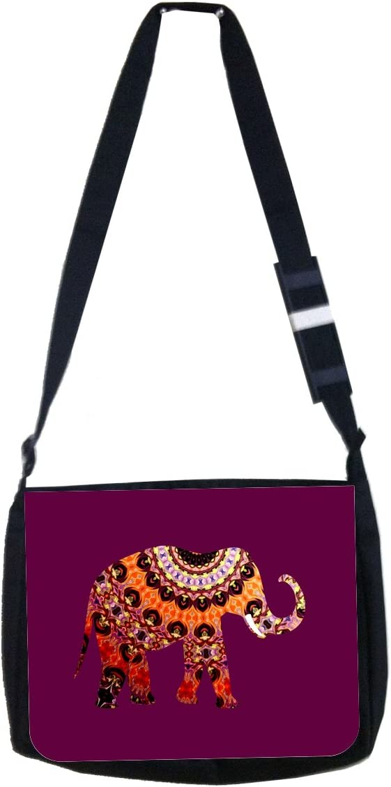 Ethnic Patterned Monkey Print Design Weekender Bag