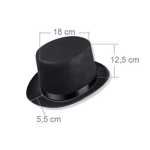 (0165 ) - Sombrero de copa para adultos 1ec2909434a