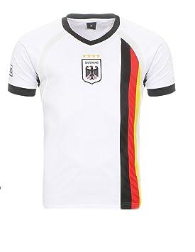 Camiseta de fútbol de Alemania del Mundial de Matyfashion, colección para hombres y mujeres en color blanco 5, Hombre, Blanco, medium: Amazon.es: Deportes y ...