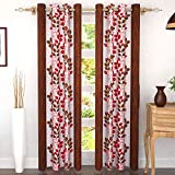 Story at Home Door Curtain, Brown, 118cm X 215cm, Dgy2005