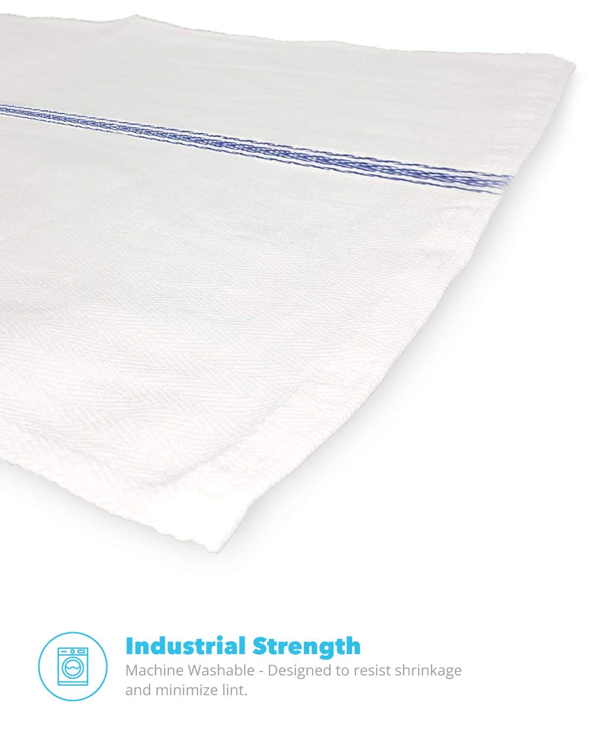 Royal Classic White Kitchen Towels - industrial
