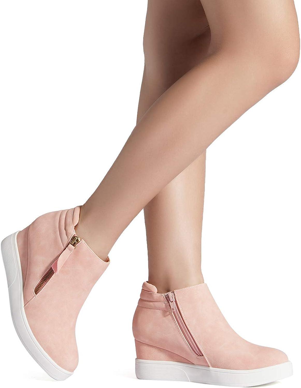 DRAEM Pairs Wedge-SNKR-2 Sneakers Baskets Femmes