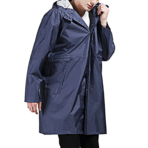Manteau de pluie long homme