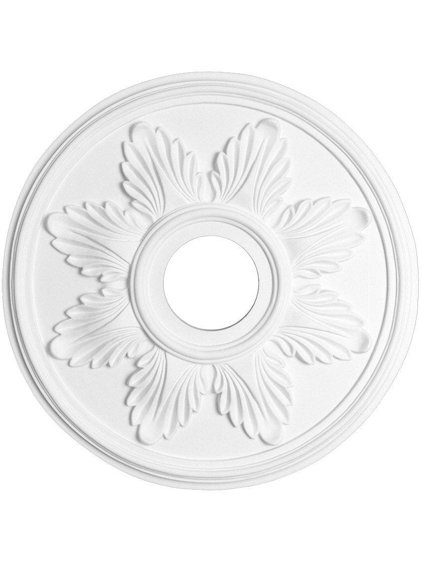 Lady Sarah 23 5//8 Ceiling Medallion with 4 Center Hole