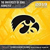 Iowa Hawkeyes 2019 12x12 Team Wall Calendar
