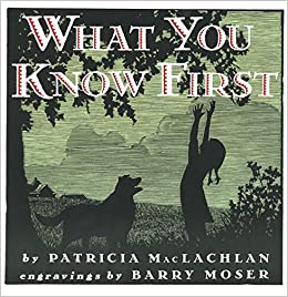 Image result for what you know first book