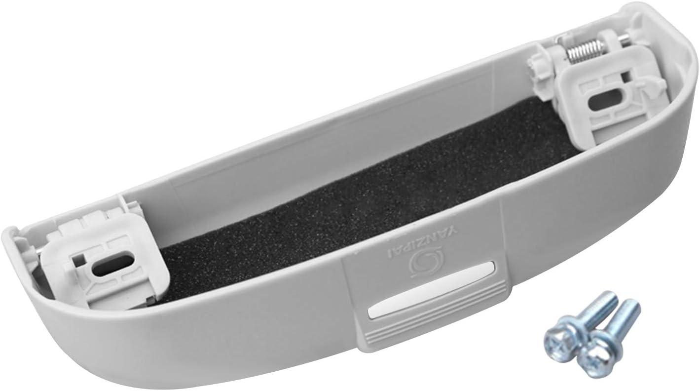 CDEFG Auto Coche Gafas Caja Organizador Gafas de Sol Soporte Almacenamiento Bolsillos para Eclipse Cross Outlander Beige