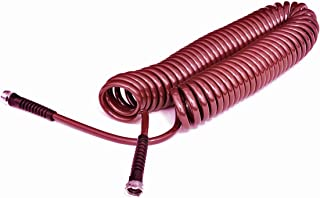 product image for Water Right Professional Coil Garden Hose, Lead Free & Drinking Water Safe, 50-Foot x 3/8-Inch, Cranberry