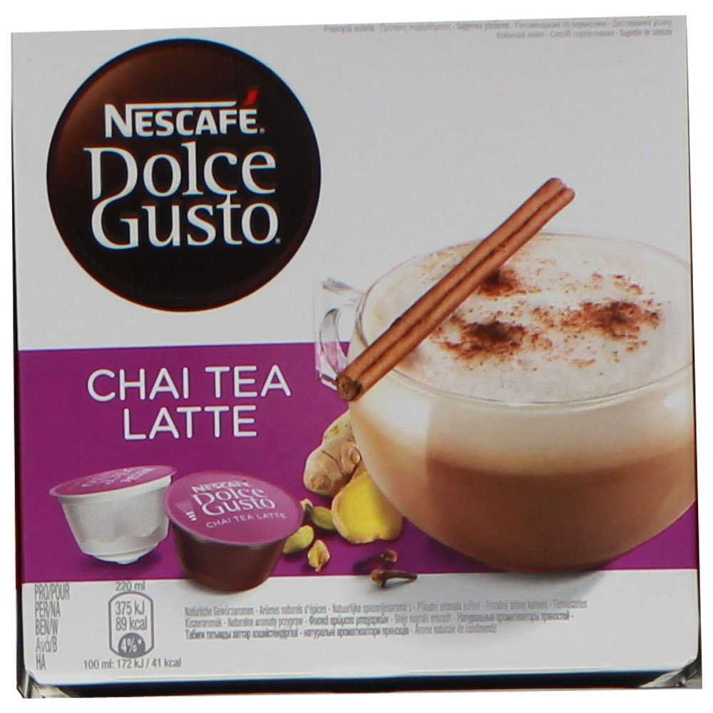 80 x Nescafé Dolce Gusto Chai Tea Latte, Cápsulas de Té para 40 Porciones: Amazon.es: Hogar