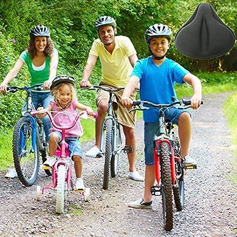 FUCNEN Funda sillin para Bicicleta estatica, Funda De Gel para ...
