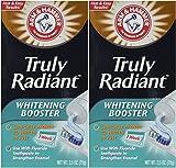 baking soda teeth whitener - Arm & Hammer Truly Radiant Whitening Booster- 2.5 oz - 2 pk