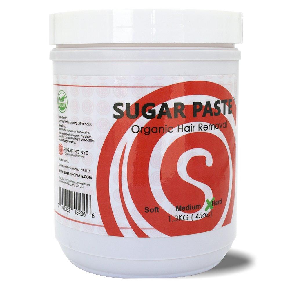 Sugaring Paste Hard 45oz. For Thick Hair (Bikini, Brazilizn, Underarms)