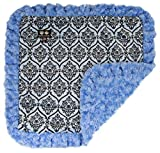 BESSIE AND BARNIE Blue Sky/Versailles Blue Luxury Ultra Plush Faux Fur Pet, Dog, Cat, Puppy Super Soft Reversible Blanket (Multiple Sizes) Review