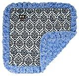 Cheap BESSIE AND BARNIE Blue Sky/Versailles Blue Luxury Ultra Plush Faux Fur Pet, Dog, Cat, Puppy Super Soft Reversible Blanket (Multiple Sizes)