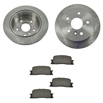 Details about  /For 2000-2001 Lexus ES300 Brake Pad and Rotor Kit Front and Rear Centric 93148KY