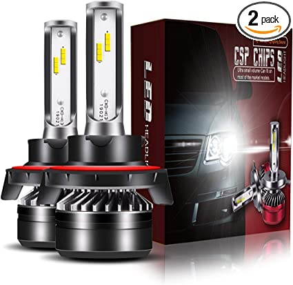 Jeep Patriot 100w Clear Xenon HID High//Low Beam Headlight Headlamp Bulbs Pair