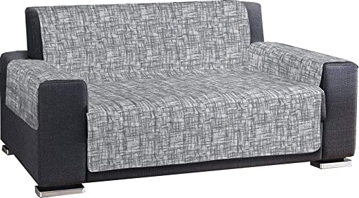 Pezzoli Shop - Funda para sofá Antimanchas, Impermeable, Acolchada, Reticula de 1-2-3-4 plazas