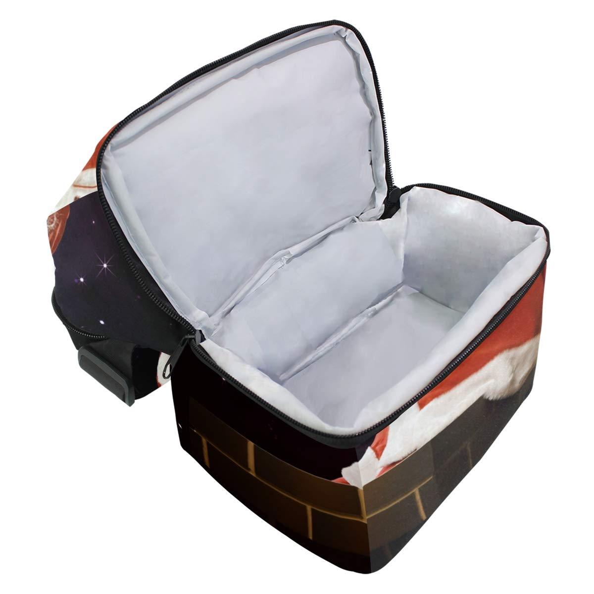bfd3ad1e70b0 Amazon.com: AISSO Santa Grandfather Gift Bag Frost Lunch Bag ...