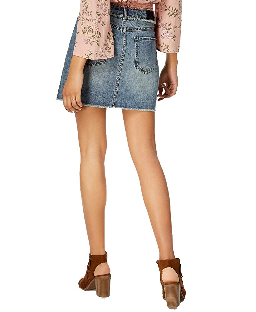 American Rag Juniors Cotton Denim Mini Skirt