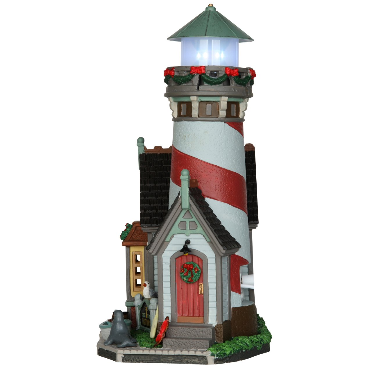 / Crest point lighthouse Cod 65094/ Village Lemax Phare du port/
