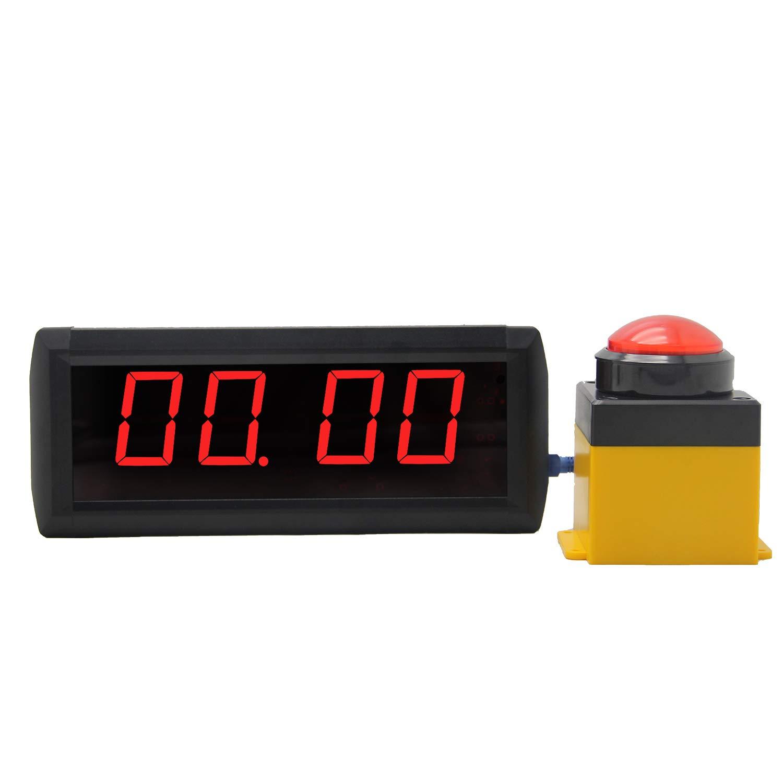 Huanyu LEDタイマー 2.3インチ6桁 ゲーム 10秒挑戦タイマー ゲームセンター 遊園地 レストラン用 B07HL5KZ4W  1.8インチ4桁