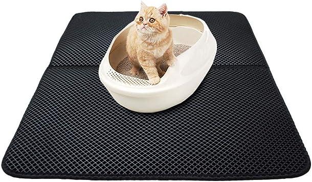 Mallalah - Esterilla para gatos, doble capa, impermeable, cómoda ...